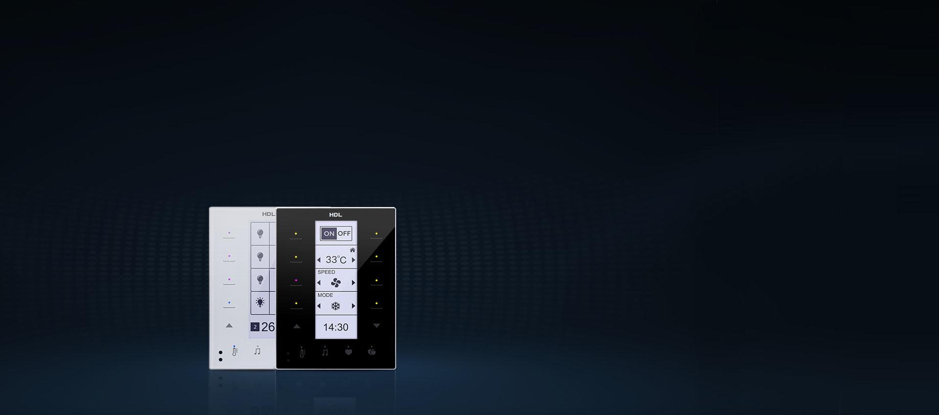 خانه هوشمند HDL | کلید هوشمند اچ دی ال HDL DLP Touch