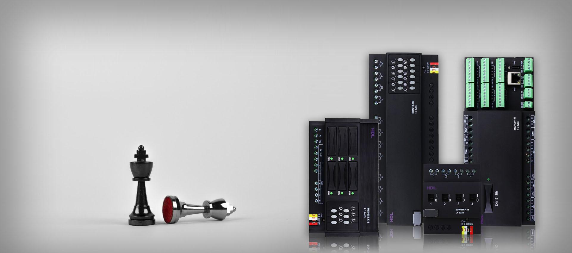 خانه هوشمند HDL | رله هوشمند | دیمر هوشمند | ماژول لاجیک | ماژول امنیتی | ماژول DMX