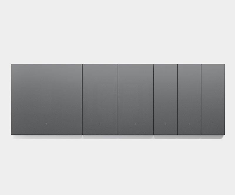 کلید هوشمند سه پل سناریو اورویبو Mixswitch خاکستری