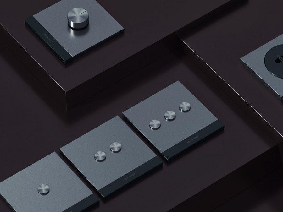 کلید لمسی هوشمند دو پل Geekrav