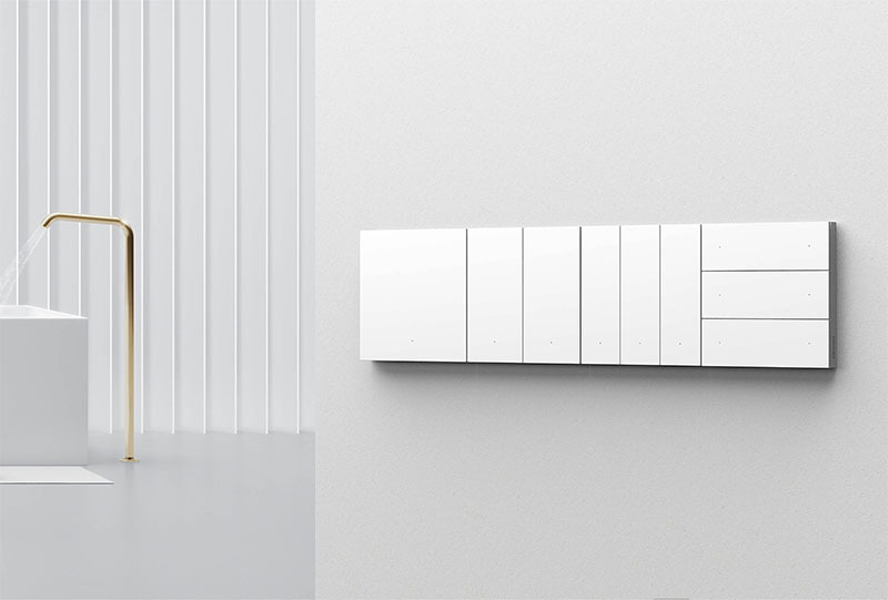 کلید هوشمند سه پل سناریو اورویبو Mixswitch سفید