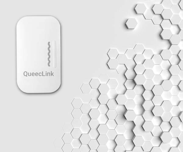 سنسور لرزش و ضربه بی سیم کوییک لینک QueecLink