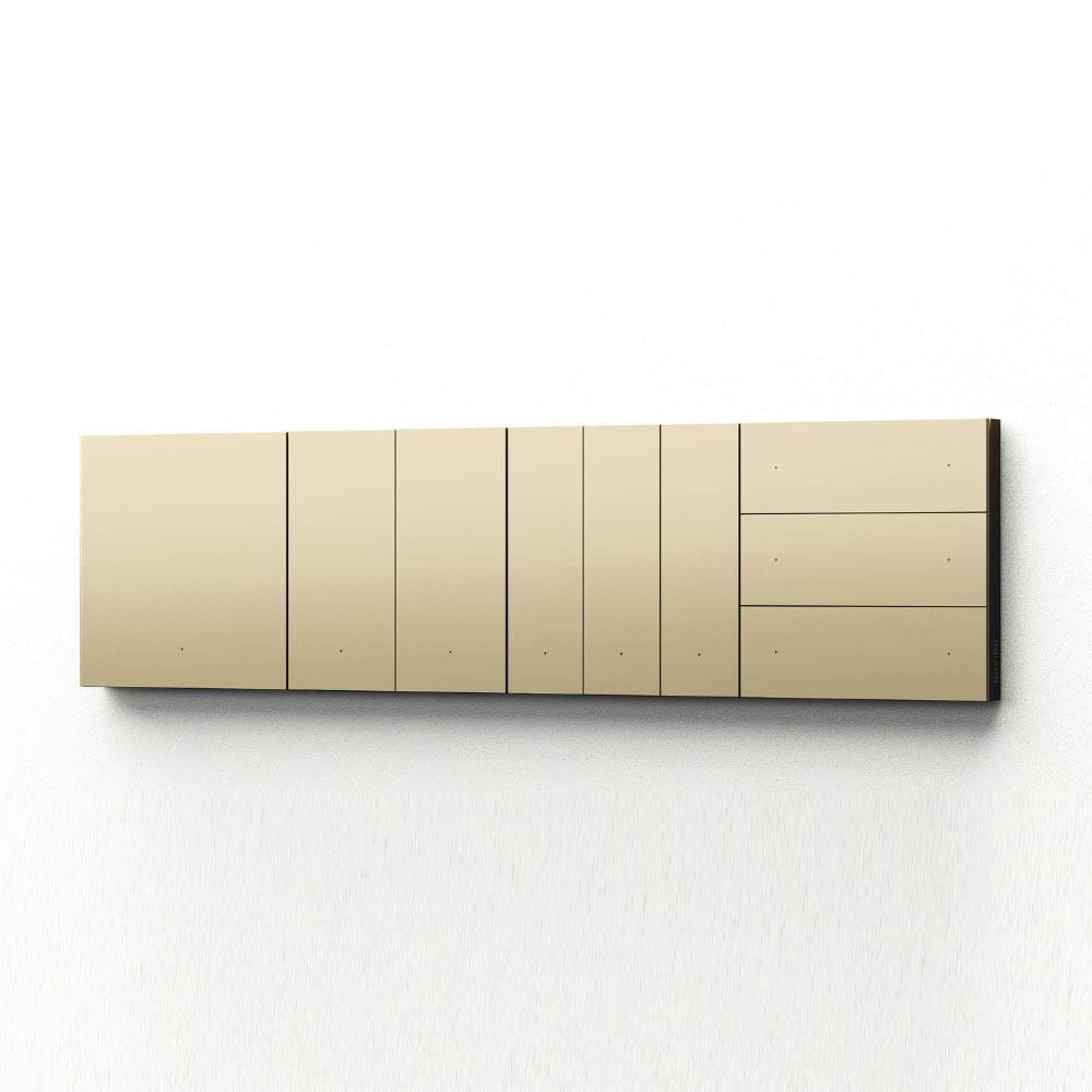 کلید هوشمند سه پل سناریو اورویبو Mixswitch طلایی