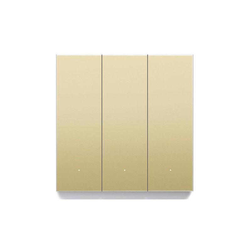 کلید هوشمند سه پل ORVIBO Mixswitch طلایی