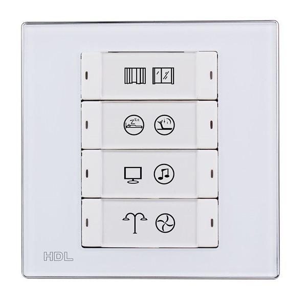 HDL iFlex Series 8 Buttons Smart Panel EU