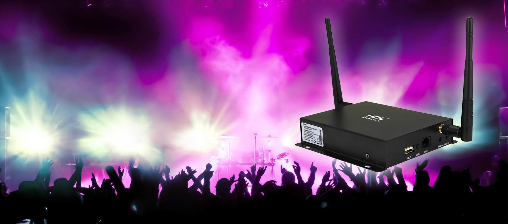 موزیک پلیر هوشمند HDL | خانه هوشمند HDL | دستگاه HDL HomePlay
